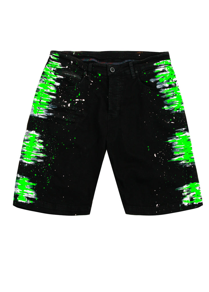 Gambler Painter Shorts (Green)