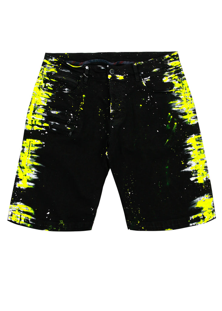 Gambler Painter Shorts (Yellow)