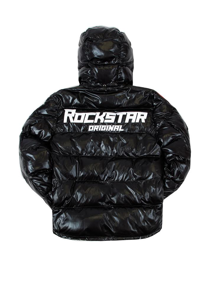 Alasia Puffer Jacket (Black)