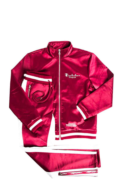 Idris (Red) Track Suit