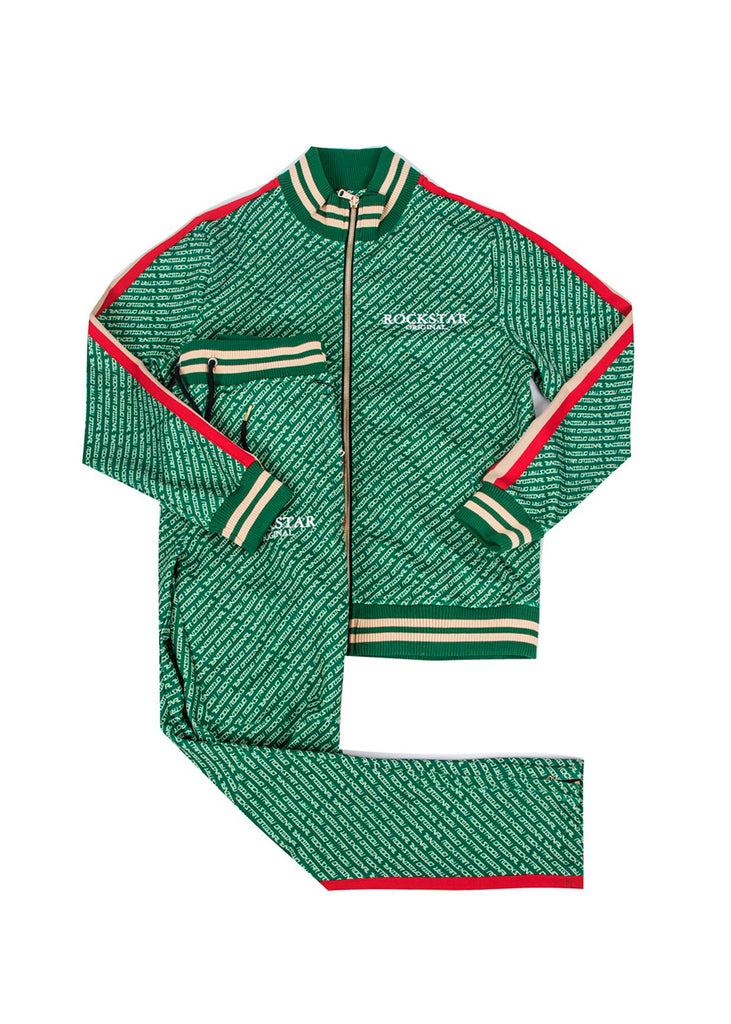 Kids Arad (Green) Track Suit