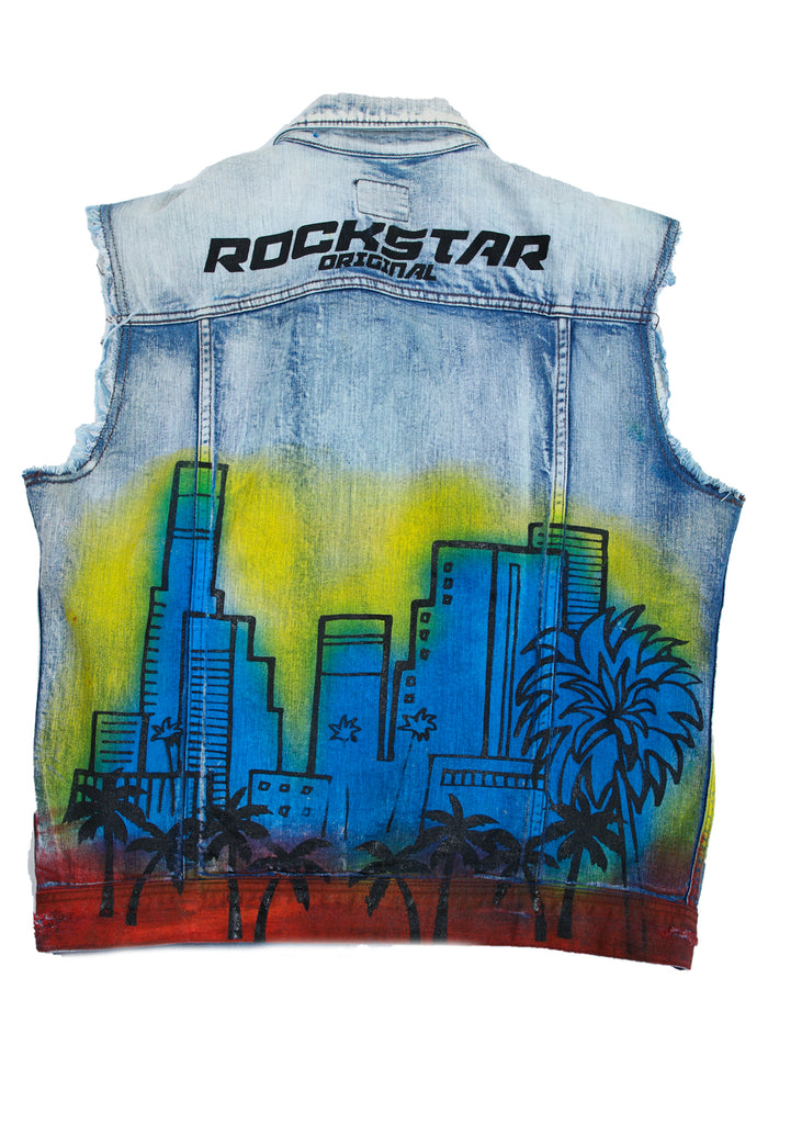 Osiris Denim Vest (Light Blue)