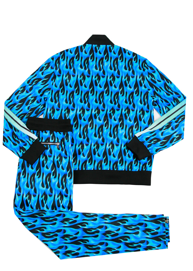 ROSS FLAME TRACK SET (BLUE)
