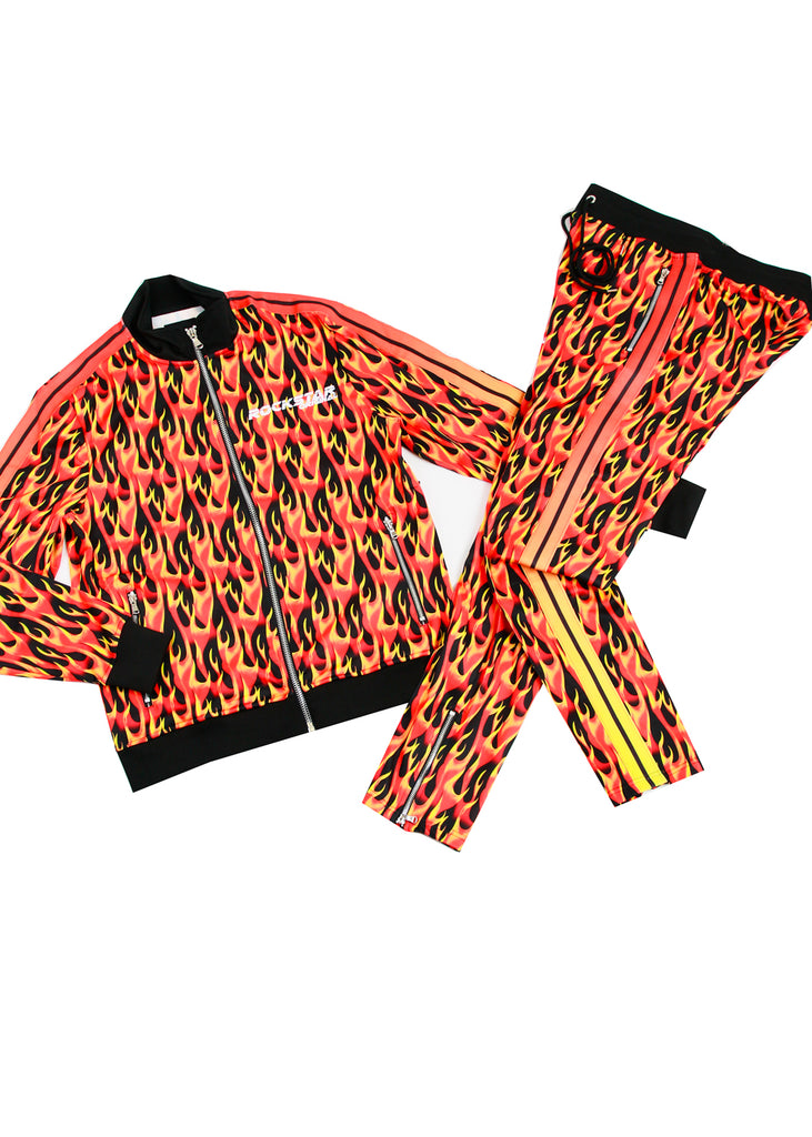 ROSS FLAME TRACK SET (RED)
