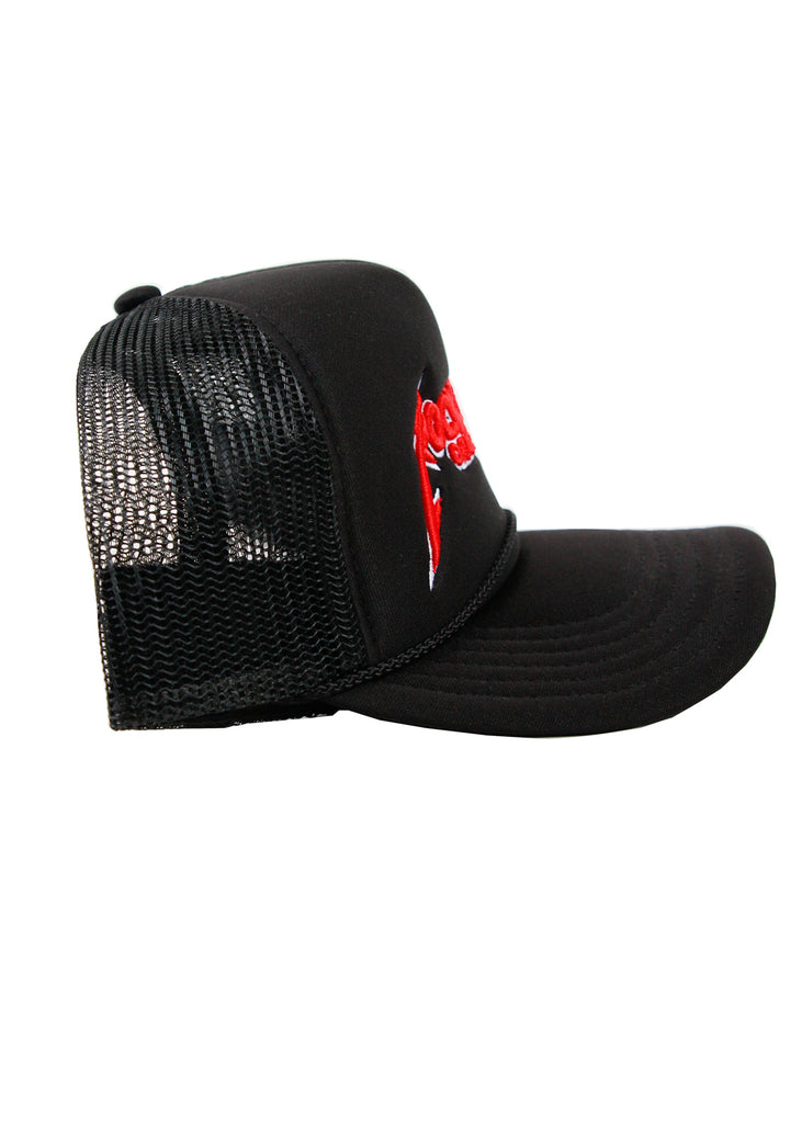 Rockstar Trucker Hat (Black)