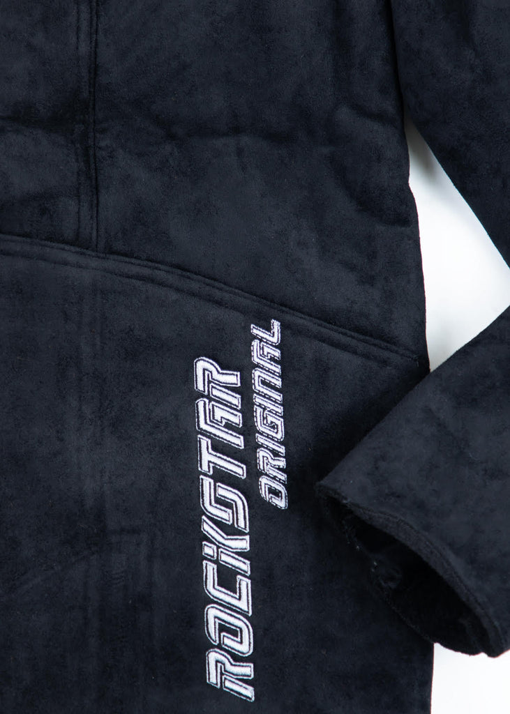 Dawn Sherpa Jacket - Black Palm