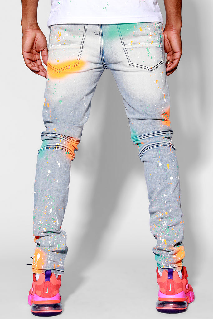 Vonte Painter Jean 4.0 (Orange)