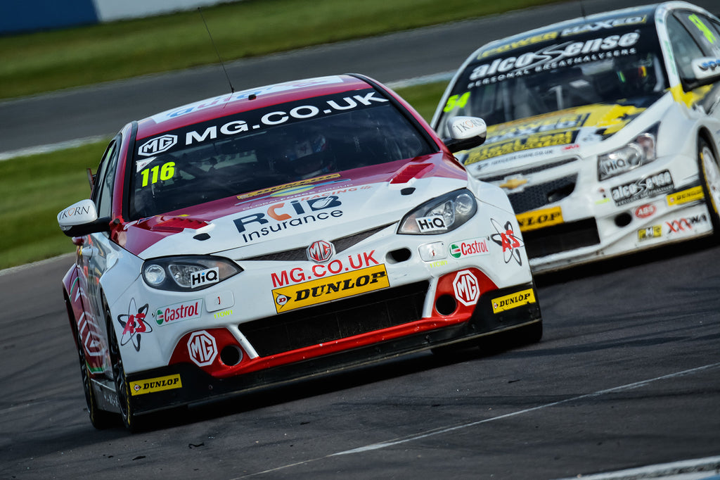 Ikorn partnering Ashely Sutton in BTCC