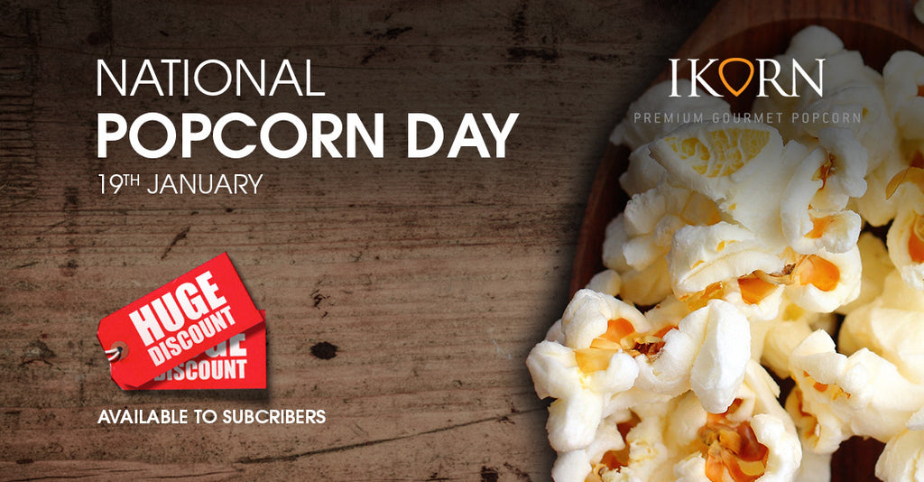 National Popcorn Day Offers - Sign up NOW!