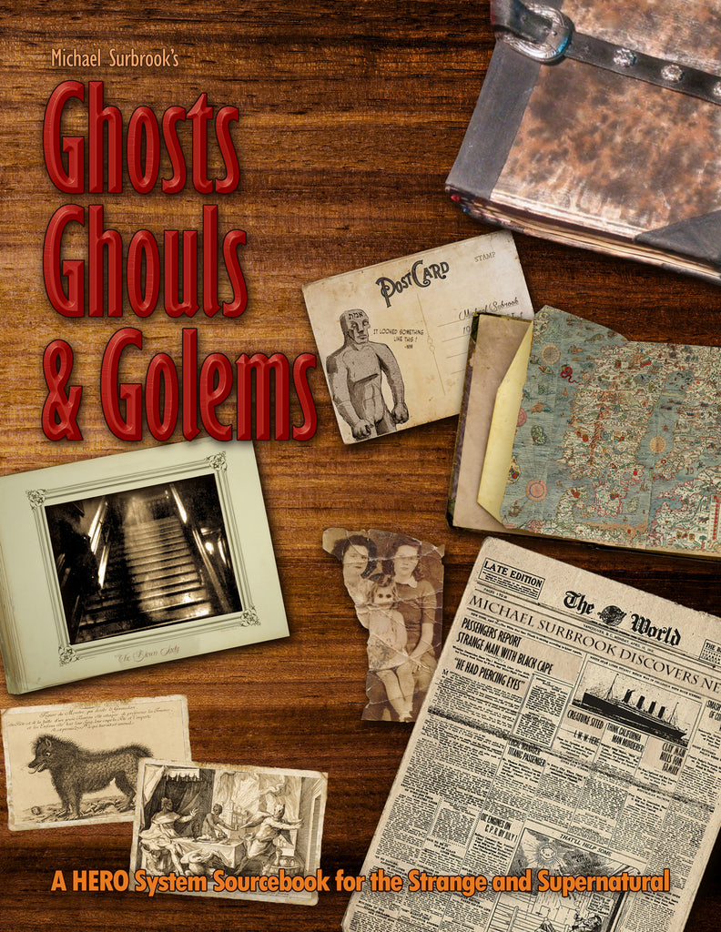 Upcoming Project: Michael Surbrook's Ghosts, Ghouls, and Golems