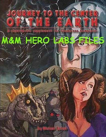 Journey to the Center of the Earth Mutants & Masterminds Hero Lab Character Pack