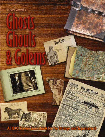 Michael Surbrook's Ghosts, Ghouls, and Golems [Print+PDF]