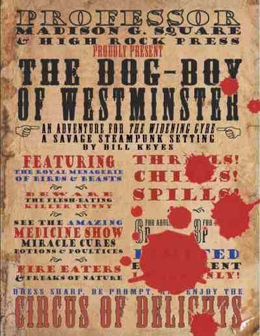 The Dog-Boy of Westminster: Hero System Edition