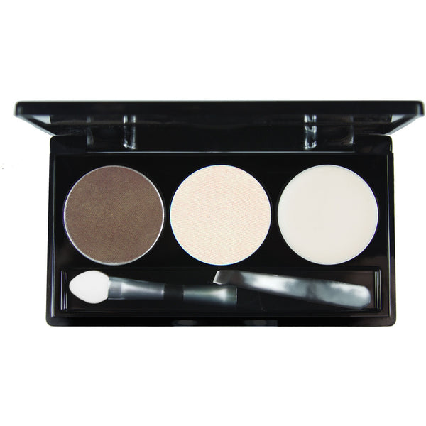 Brow Trio Palette -   LA BEAUTE FATALE - Luxurious Cosmetics & Beauty Products Indulged with Quality - All Rights Reserved