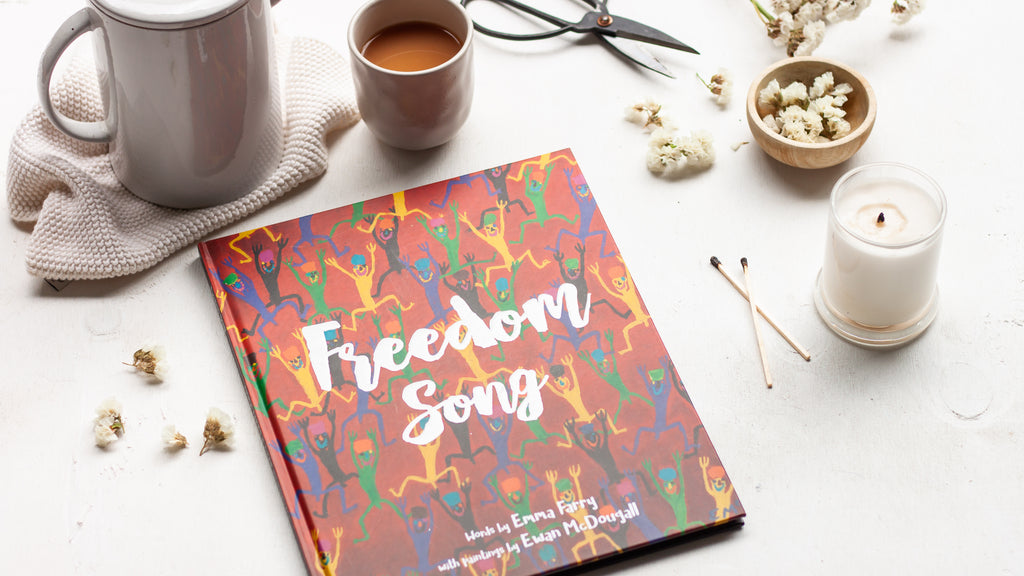 Emma Farry on Freedom Song - The Cafe