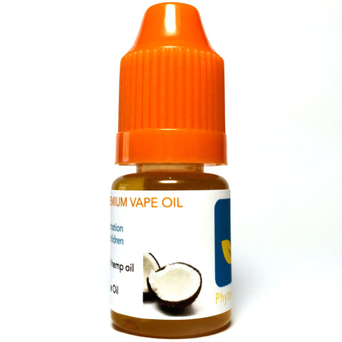 Hemp Oil - 5 ml - 125 mg CBD - Coconut -