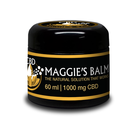 Maggie's Balm - 1000mg CBD Isolate - 2oz