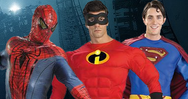 Superhero Costumes Old