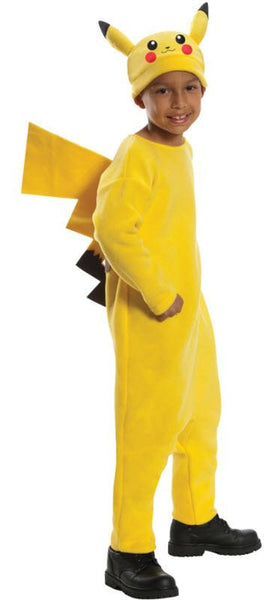 Kids Deluxe Pikachu Pokemon Costume