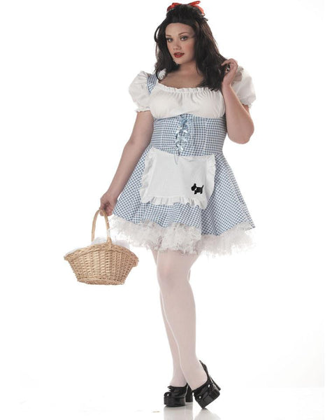 Adult Plus Storybook Dorothy Costume