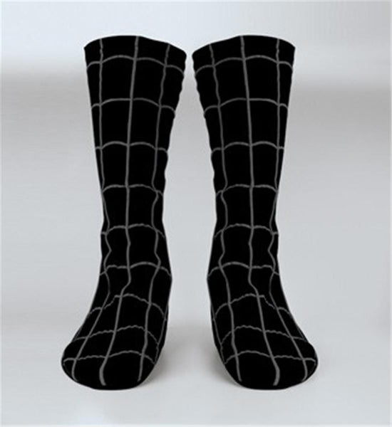 Adult Venom Black Spiderman Boot Covers
