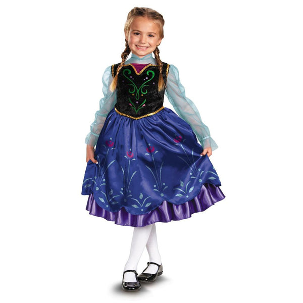 Kids Anna Deluxe Costume