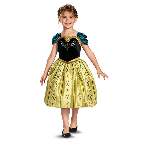 Kids Anna Coronation Gown Classic Costume
