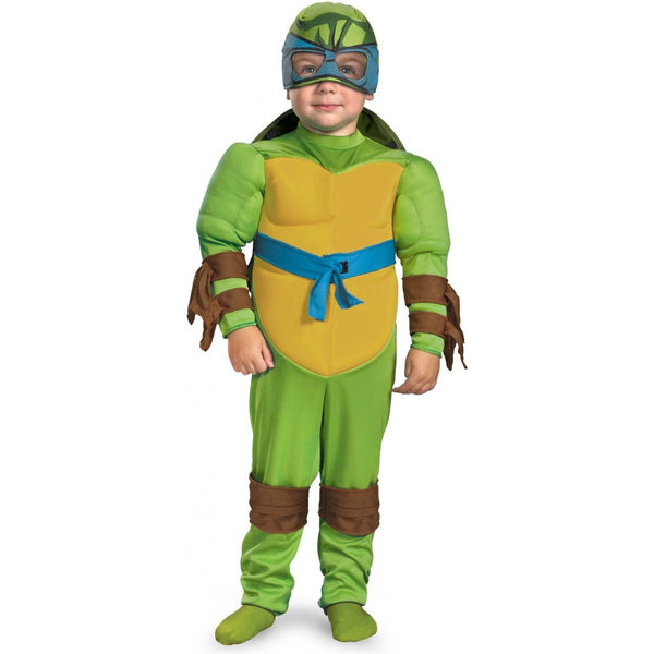 Kids Teenage Mutant Ninja Turtles Leonardo Muscle Costume