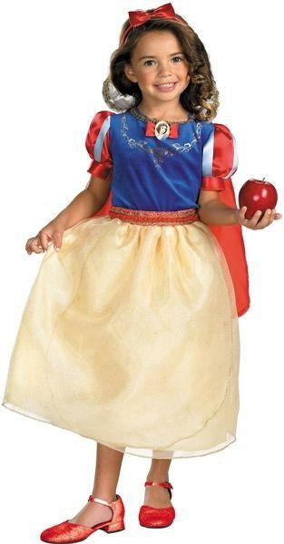 Kids Snow White Deluxe Costume DI-50568