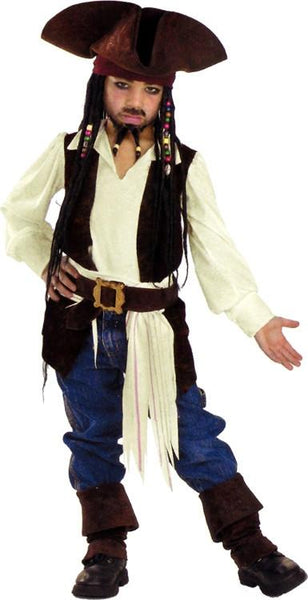 Kids Captain Jack Sparrow Costume DI-5910