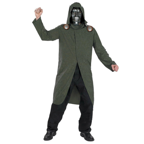 Adult Dr.Doom Deluxe Costume