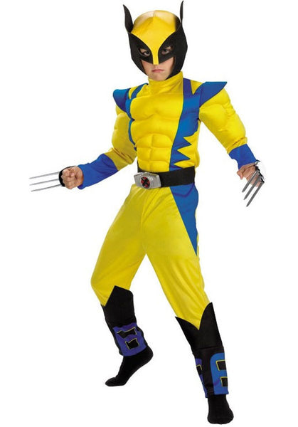 Child Wolverine Deluxe Costume