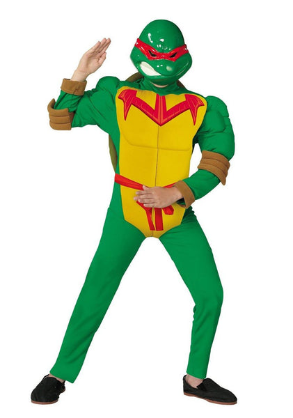 Kids Raphael Quality Muscle Costume