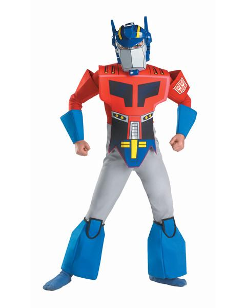 Kids Cartoon Optimus Prime Costume