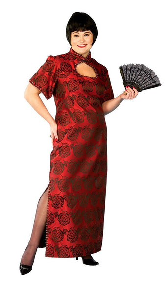 Adult Fortune Cookie Plus Size Costume
