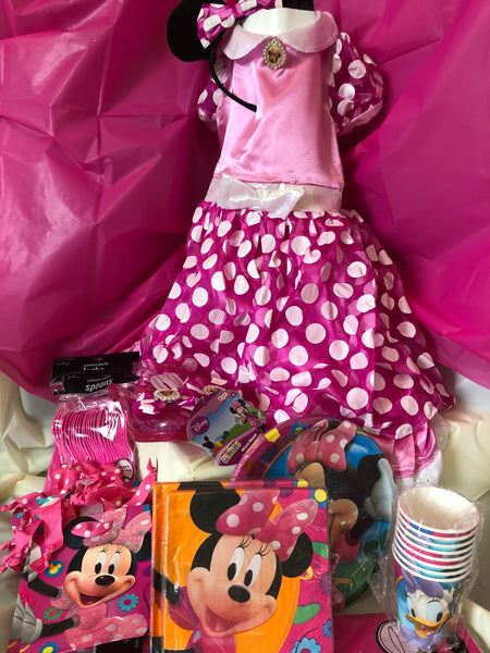 Minnie Mouse Party Package for 8