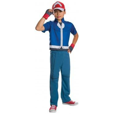Kids Ash Pokemon Costume