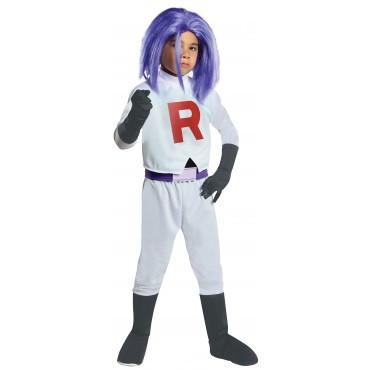 Kids James Pokemon Costume