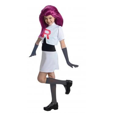 Kids Jessie Pokemon Costume