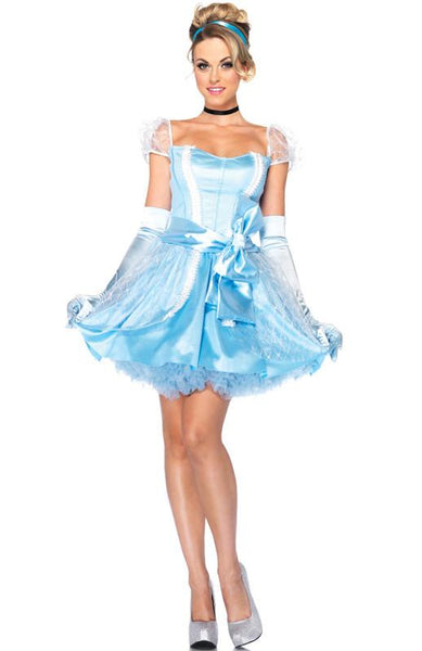 Adult Blue Glass Slipper Cinderella Costume