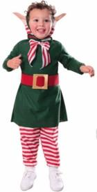 Kids Lil Elf Costume