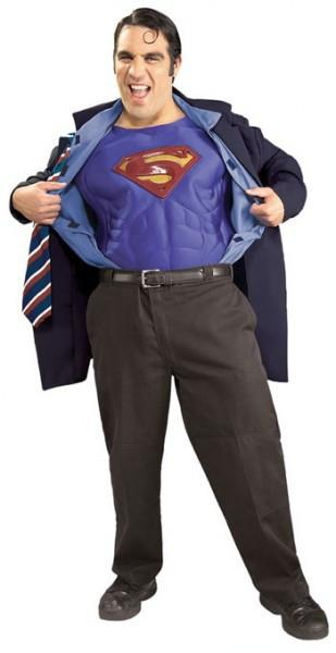 Adult Clark Kent / Superman Costume