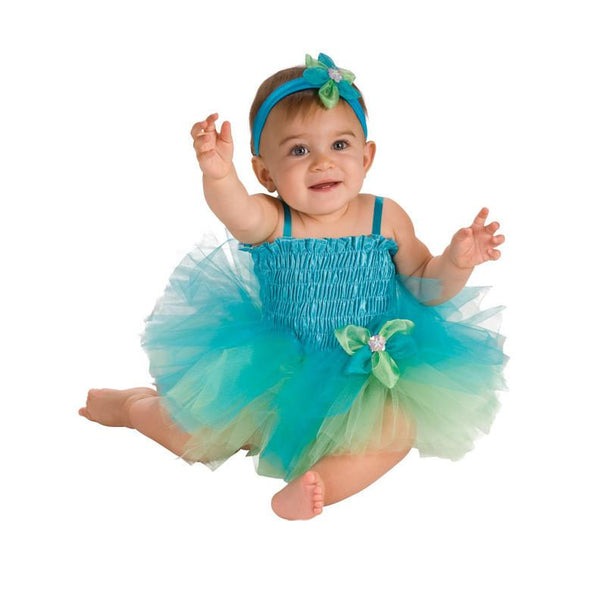 Baby Blue/Green Tutu Dress