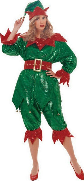 Adult Sequin Elf Costume