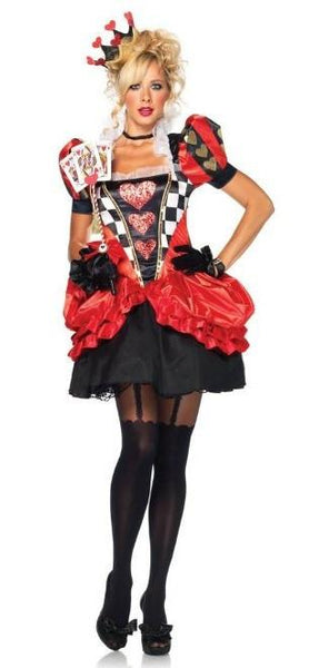 Adult Evil Red Queen Costume