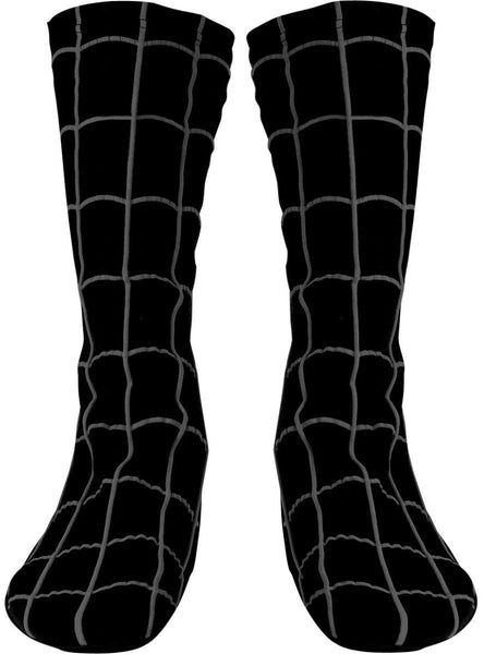 Spider Man Child Boot Covers Black Suited