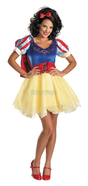 Adult Sassy Snow White Costume - Prestige