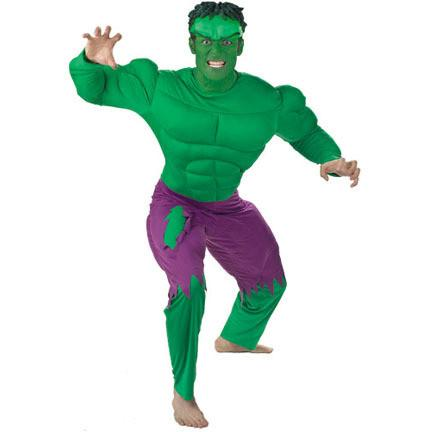 Adult Incredible Hulk Deluxe Muscle Costume  sc 1 st  Costume City & Incredible Adult Costume - costumecity.com