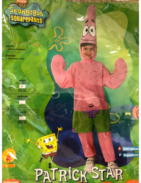 Patric Star Kids costume