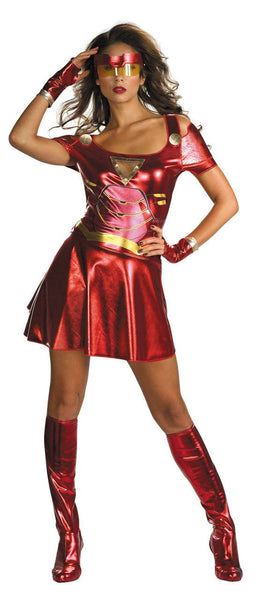 Adult Ironette Sassy Deluxe Costume